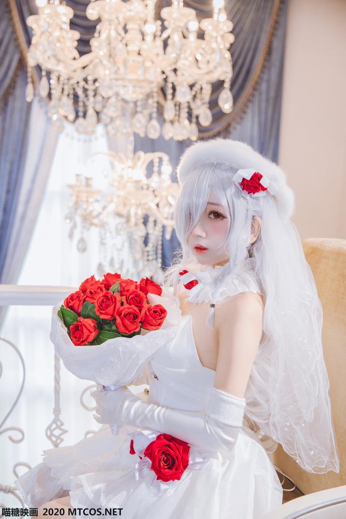 花嫁 cos 少女二次元