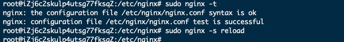 "配置代理转发 报nginx: [emerg] unexpected ""}"" in /etc/nginx/nginx.conf的解决办法插图(2)"