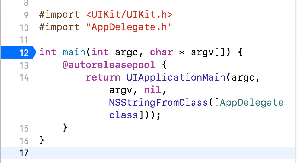 iOS main函数底层原理是什么【详细解答】插图(1)