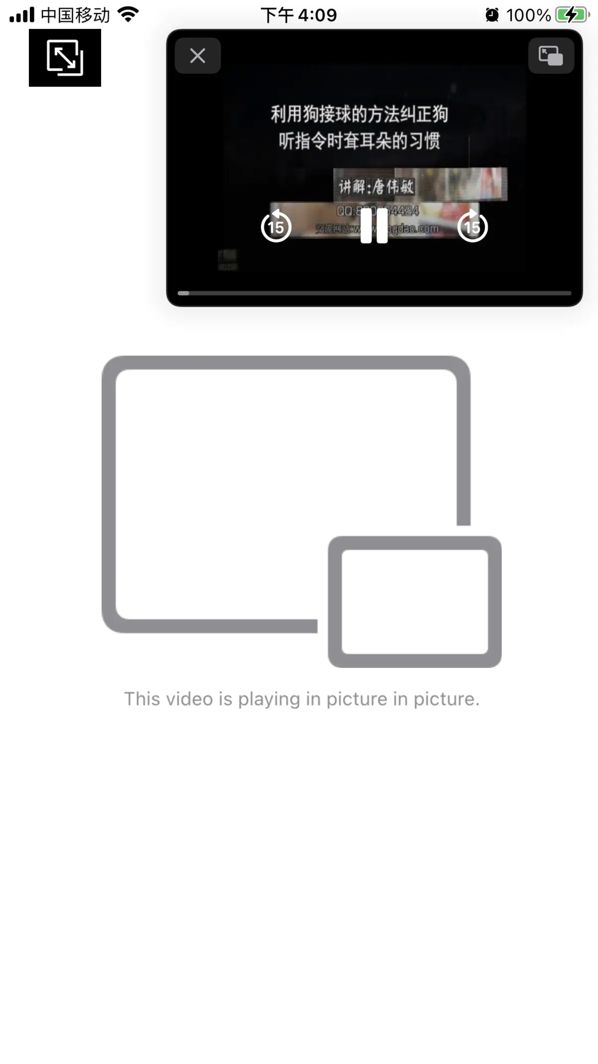 [iOS14]iPhone上画中画效果实现[详细代码]插图(1)