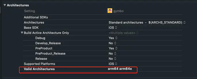 XCode 12 跑模拟器编译报错building for iOS Simulator, but linking in object file built for iOS, xxxx for architecture arm64插图(1)