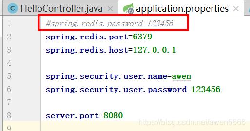 io.lettuce.core.RedisCommandExecutionException: ERR Client sent AUTH【解决办法】插图(3)