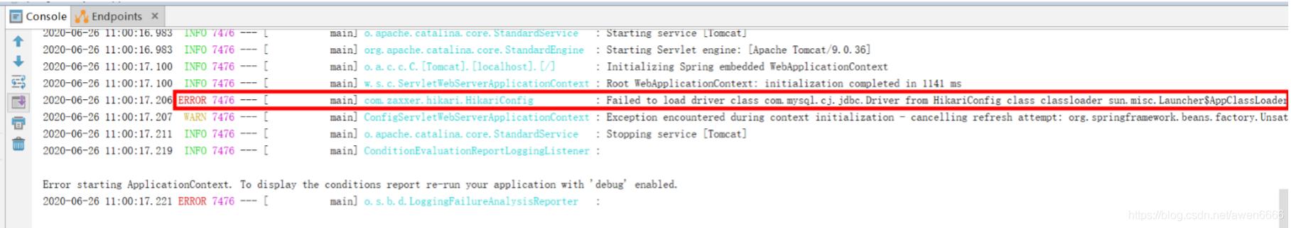 Failed to load driver class com.mysql.cj.jdbc【解决办法】插图