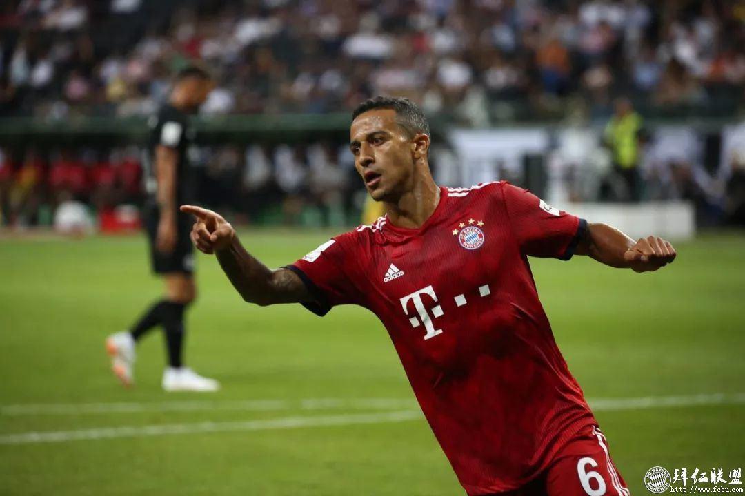 德国超级杯三连冠!拜仁5:0法兰克福14