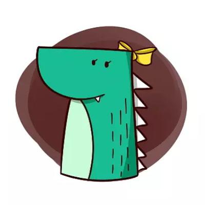 鳄鱼高清情侣头像