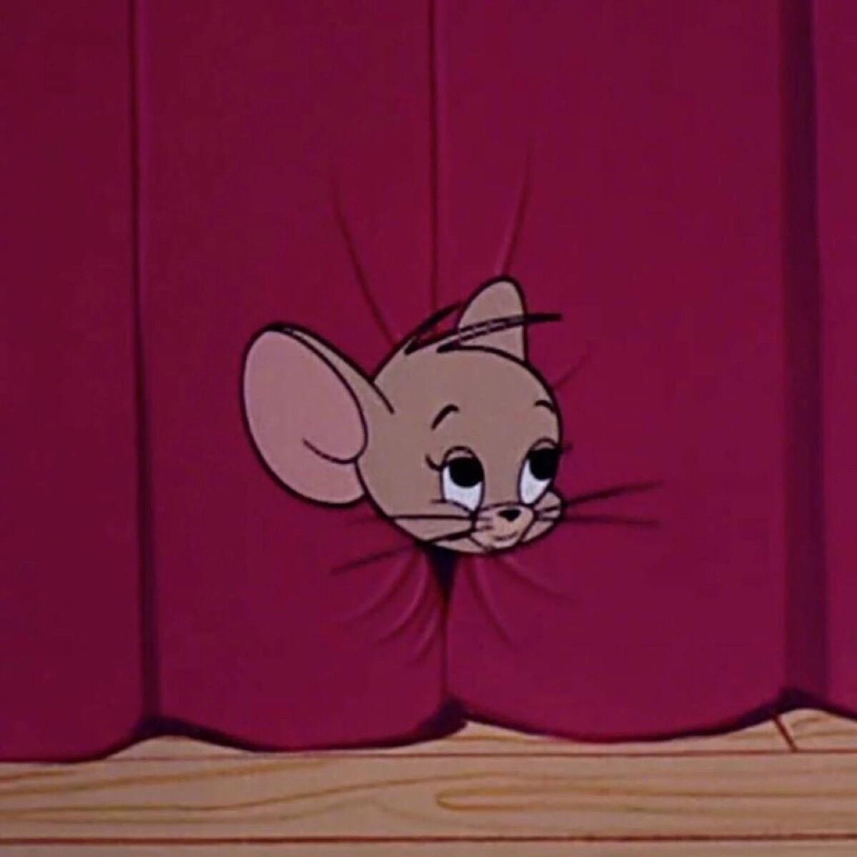 猫和老鼠高清情侣头像 第6张