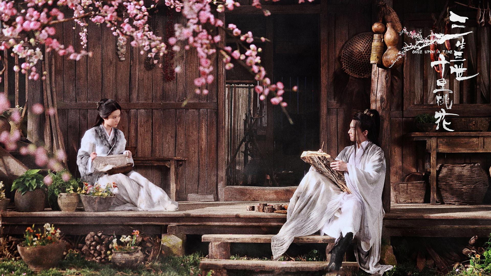 刘亦菲唯美高清桌面壁纸 三生三世十里桃花刘亦菲唯美高清壁纸 高清壁纸 第9张