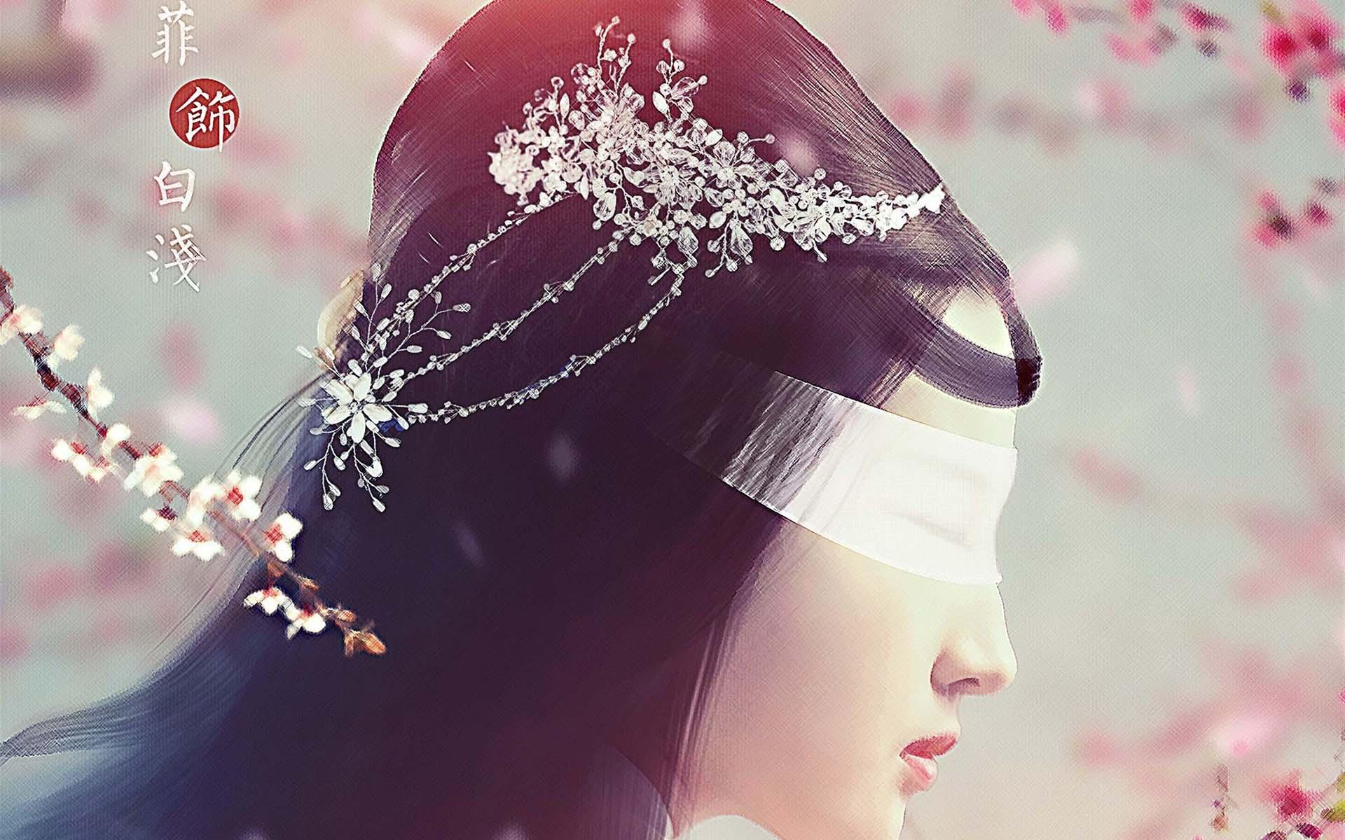 刘亦菲唯美高清桌面壁纸 三生三世十里桃花刘亦菲唯美高清壁纸 高清壁纸 第11张