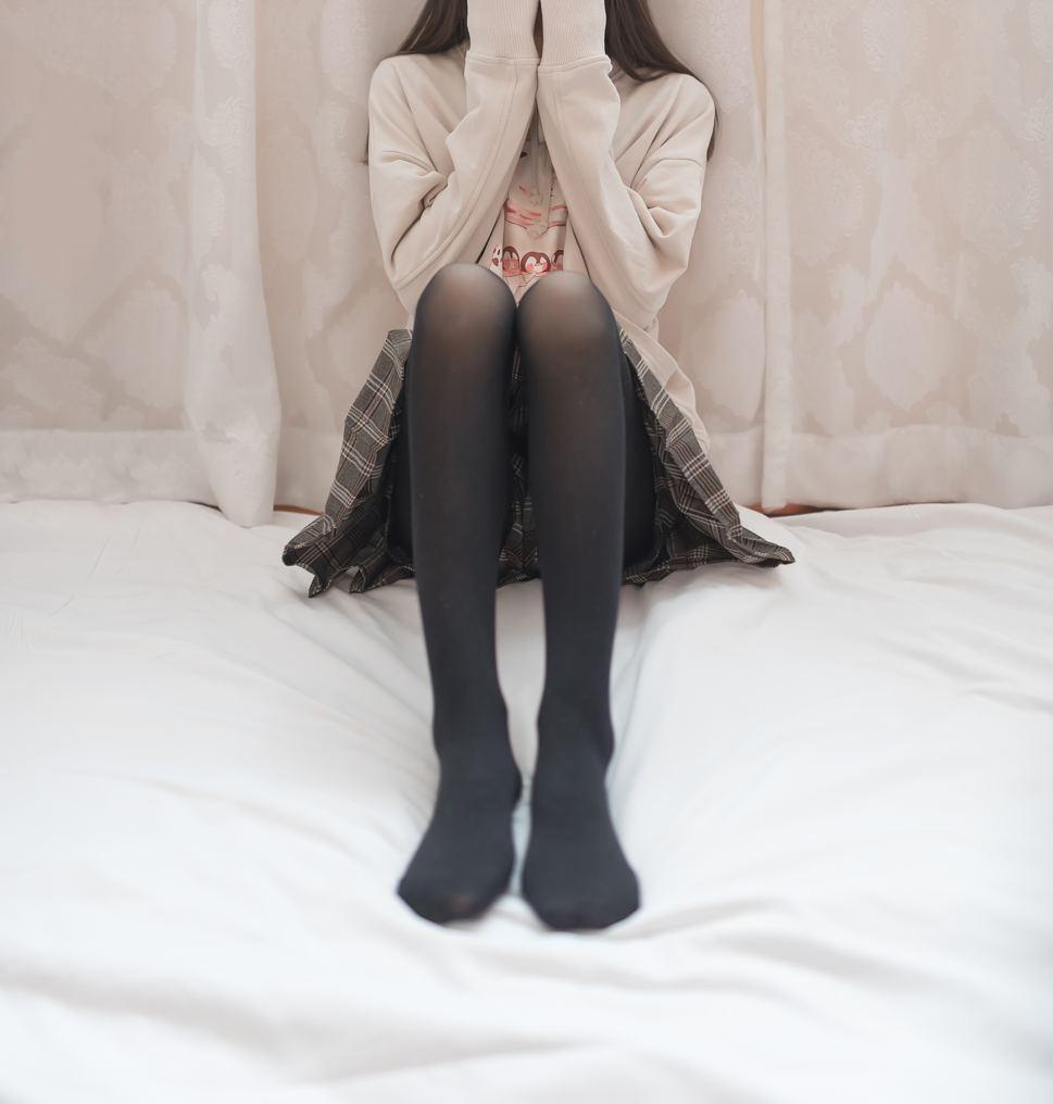 【摄影写真】@九曲Super-cute 窗帘后的朦胧 写真本(46p)