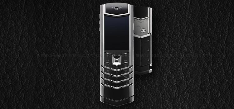 VERTU威图手机精仿SIGNATURE直板手机