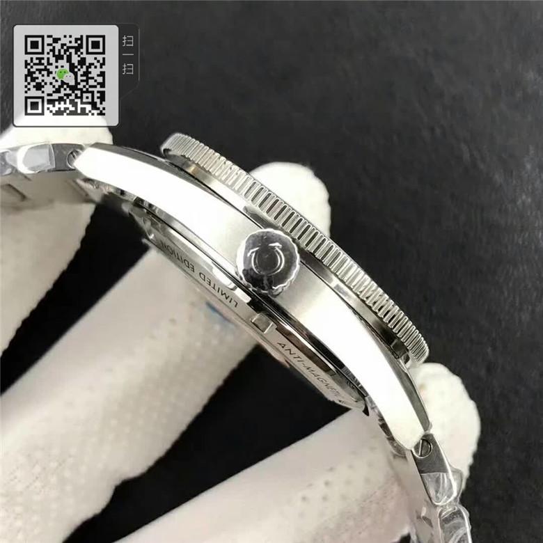 复刻欧米茄海马007钢带自动机械男海马系列233.32.41.21.01.001金属表链图片