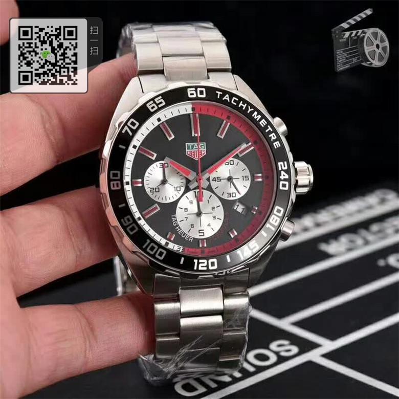 高仿TAG Heuer泰格豪雅F1系列瑞士正品计时码表男表CAZ101E.BA0842图片