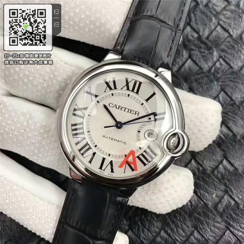 复刻版卡地亚蓝气球手表,高仿卡地亚伦敦系列机械石英男女表 精仿W69016Z4机械男表42图片