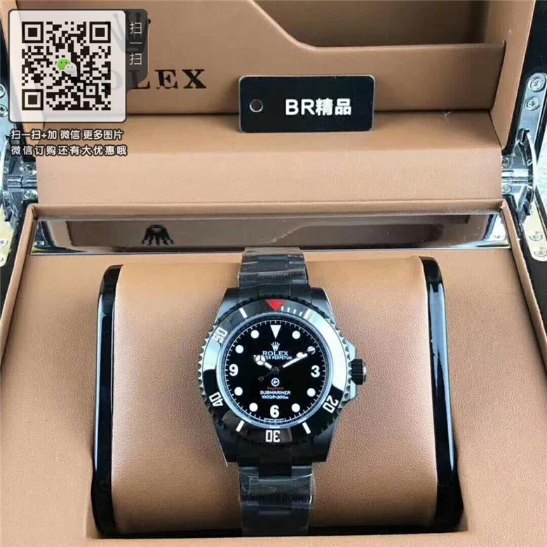 高仿劳力士潜航者型系列114060-97200 黑盘腕表(黑水鬼)图片