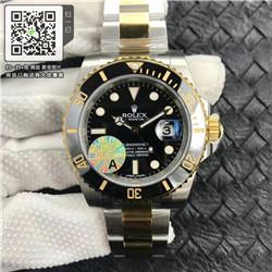 精仿劳力士潜航者型116613-LN-97203黑盘 男款自动机械腕表 ☼
