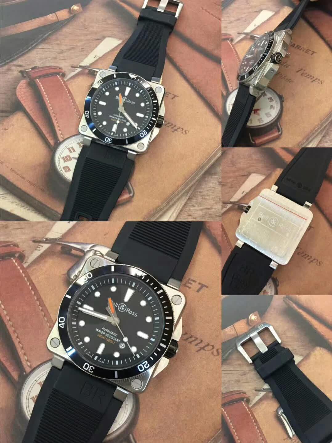 高仿柏莱士INSTRUMENTS系列BR0392-D-BL-ST/SRB腕表图片