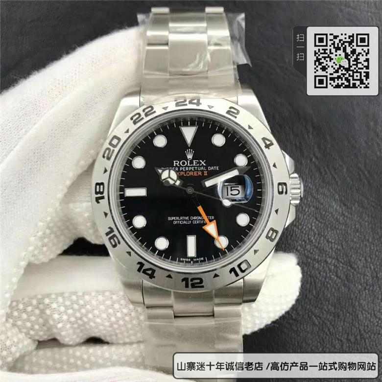 复刻版劳力士探险家型系列216570-77210 黑盘腕表图片
