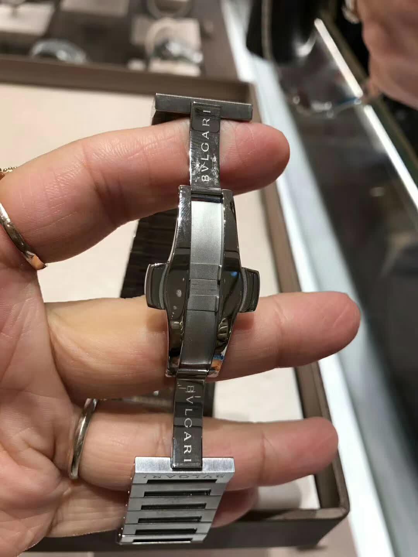 复刻版宝格丽OCTO系列男表  精仿102031 BGO41BSSD手表图片