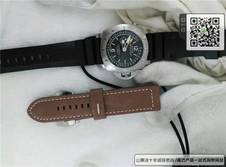 复刻版沛纳海现代款系列男表  高仿PAM 00193手表图片