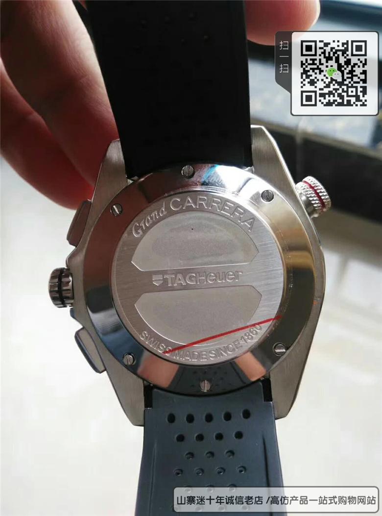 高仿泰格豪雅超级卡莱拉系列男表 高仿CAV5185.FT6020手表图片