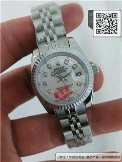 复刻劳力士女装日志型系列女表  精仿179174-63130 G手表 ☼