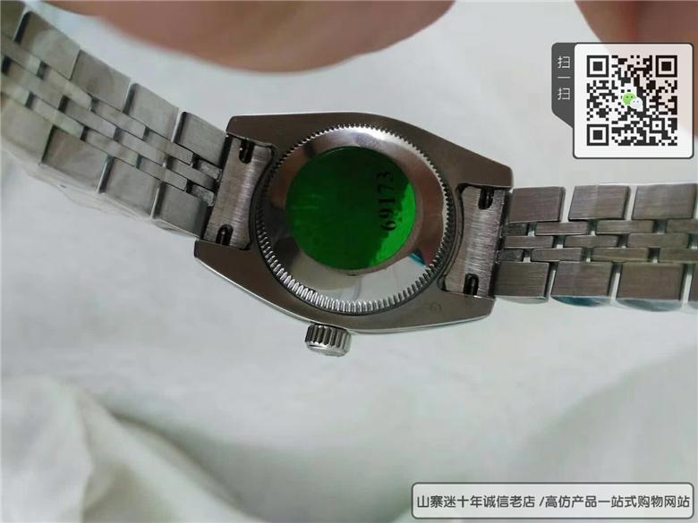 复刻劳力士女装日志型系列女表  精仿179174-63130 G手表图片