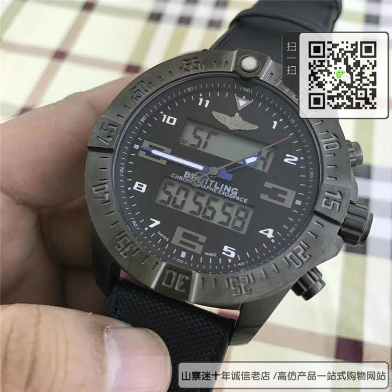 复刻版百年灵专业系列男表  高仿EB5510H1 BE79 263S 手表图片