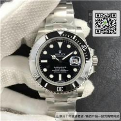 高仿劳力士潜航者型系列男表  精仿116610LN-97200 黑盘手表(黑水鬼) ☼