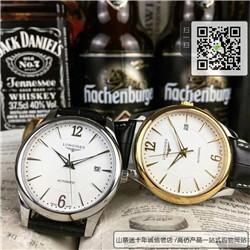 复刻版浪琴优雅系列男表 高仿L4.778.6.12.0手表 ☼
