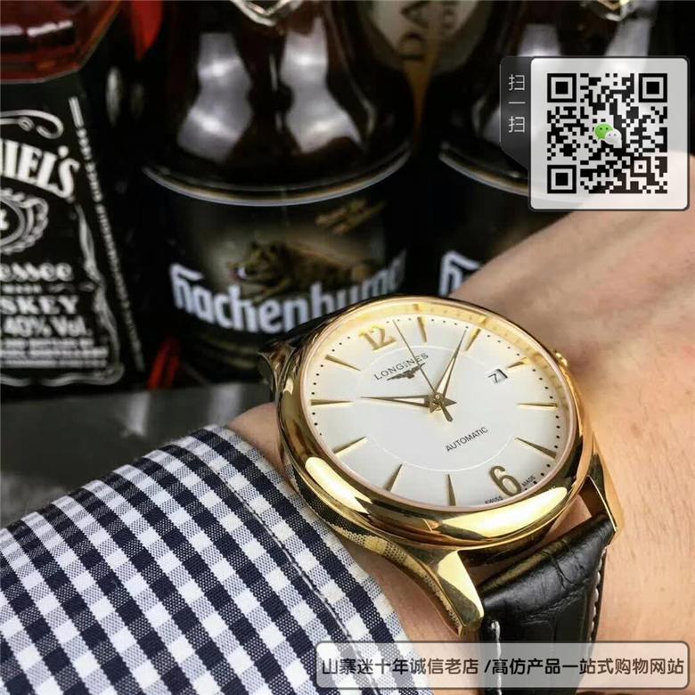 复刻版浪琴优雅系列男表 高仿L4.778.6.12.0手表图片