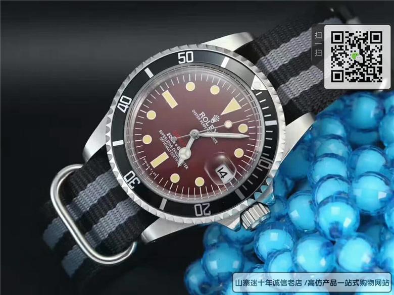 复刻版劳力士潜水系列精钢表壳机械表39MM图片