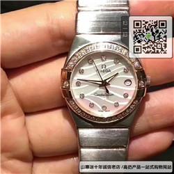 复刻版欧米茄星座系列女表 精仿123.15.27.20.55.002手表 ☼