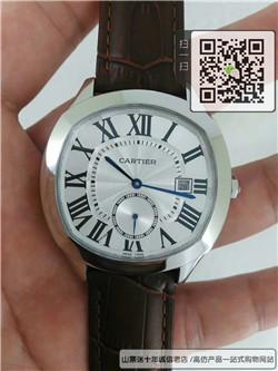 高仿卡地亚DRIVE DE CARTIER 系列男表  高仿WSNM0004手表 ☼