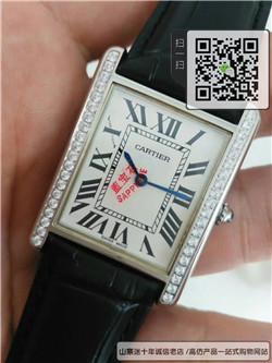 精仿卡地亚坦克系列情侣表 高仿W5200005手表 ☼
