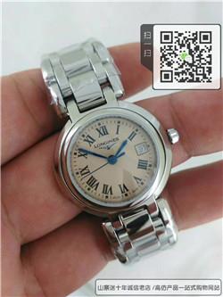 高仿浪琴优雅系列女士表  高仿L8.113.4.71.6手表 ☼