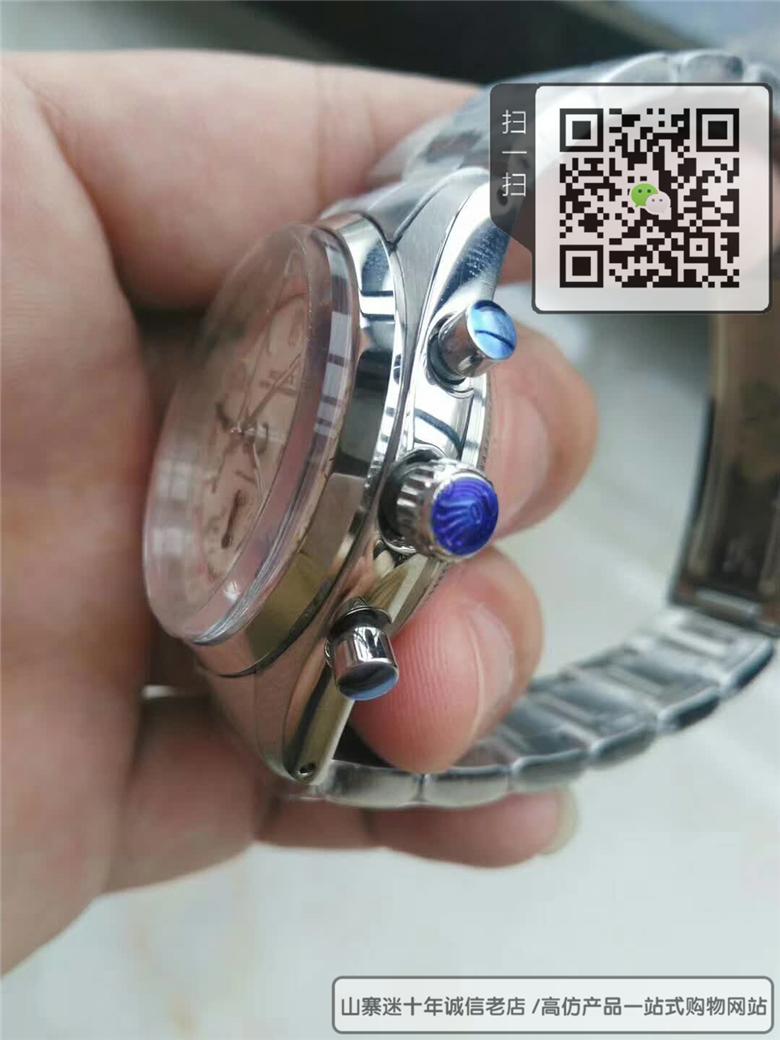 复刻版劳士力男表机械表精钢表带计时表图片