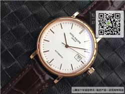 复刻版百达翡丽古典表系列男表 精仿5296R-010 玫瑰金手表 ☼