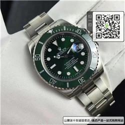 高仿劳力士潜航者型系列男表 高仿116610LV-97200 绿盘手表(绿水鬼) ☼