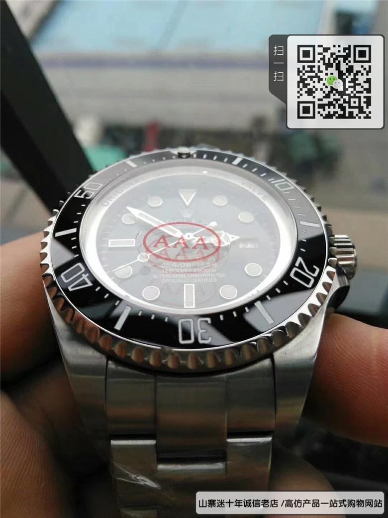 复刻版劳力士海使型系列男表  复刻116660-98210 黑盘手表(水鬼王)图片