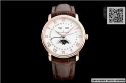 高仿宝珀经典系列女表 高仿6654-3642-55B手表 ☼