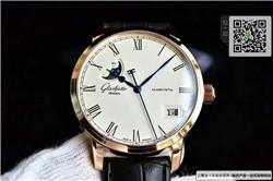 精仿格拉苏蒂原创议员系列男表 精仿100-04-32-12-04手表 ☼
