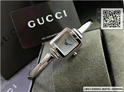 精仿古驰Gucci女士手链腕表精钢材质19MM ☼