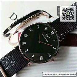 复刻版的惠灵顿手表36mm 套装【dw手表+dw手镯+dw专柜】 ☼