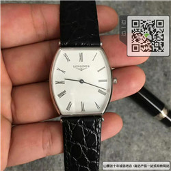 高仿浪琴优雅系列情侣表  高仿L4.705.4.11.2手表 ☼