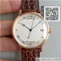高仿宝玑经典系列男表  高仿5177BA/12/9V6手表 ☼