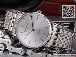 精仿浪琴优雅系列男表  精仿L4.708.4.72.6手表☼
