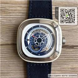 精仿Sevenfriday男表羊皮表带  精仿P3/06手表☼
