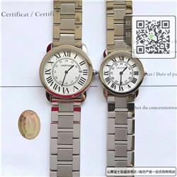 精仿卡地亚RONDE DE CARTIER系列  精仿W6700155手表☼