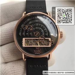 高仿Xeric大表盘自动机械男表  限量版男士真皮手表☼