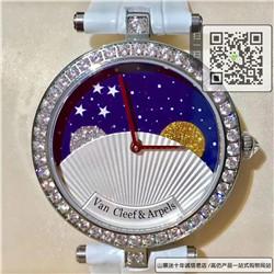 精仿梵克雅宝诗意复杂功能腕表系列女表  精仿VCARN25800手表☼